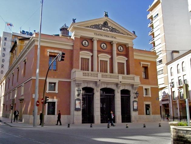 Teatro principal castellon de la plana representaciones for Teatro principal valencia